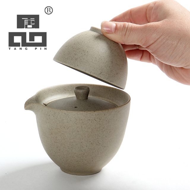 Portable Ceramic Gaiwan Tea Kit