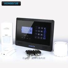 HOMSECUR (Espanol/Deutsch/Francais/English Voice) Home Security Wireless GSM Autodial Burglar Intruder Alarm System
