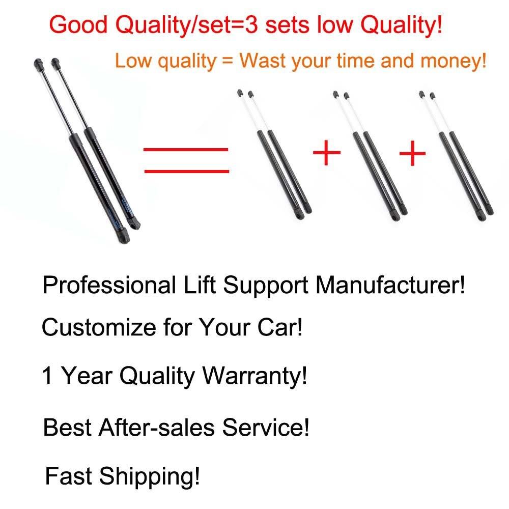 2pcs Auto Tailgate Rear Trunk Boot Gas Gas Stripes, Supports Struts - Pjesë këmbimi për automjete - Foto 5