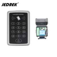 12V RFID 125khz Wireless 315mhz 433mh Password Keypad Door Opener For Access Control System With 10