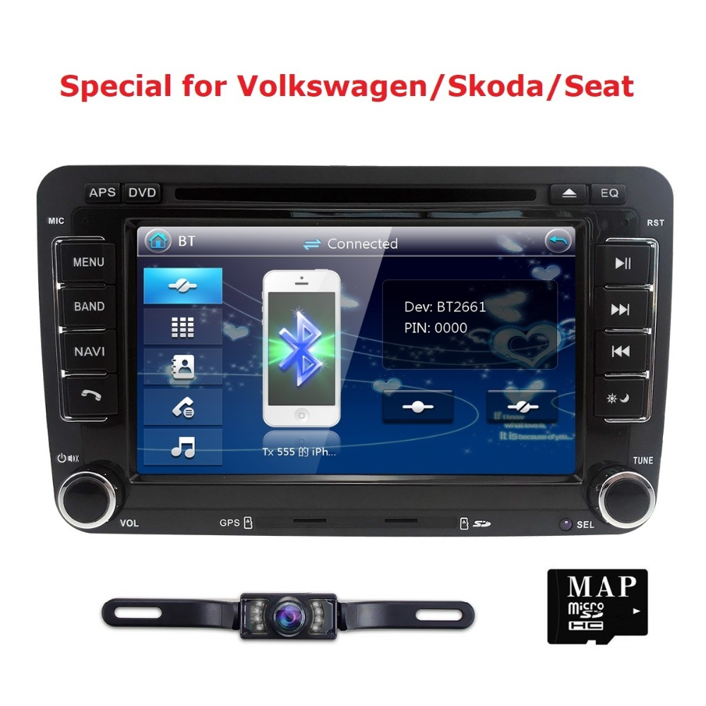 Hedendaags Auto Radio 2 Din Car DVD VW Navigation for Volkswagen GOLF 4 GOLF MG-29