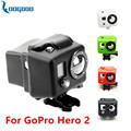 New Camera Gopro Accessories Silicone Case for Go pro Hero 2 black blue green red white GP40 free shipping