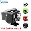 Nova câmera gopro acessórios capa de silicone para go pro hero 2 azul preto verde vermelho branco gp40 frete grátis