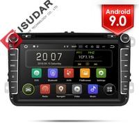 Isudar 2 Din Auto Radio Android 9 For VW/Golf/Tiguan/Skoda/Fabia/Rapid/Seat/Leon Car Multimedia Video Player GPS Navigation DVR