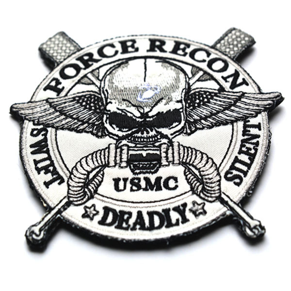 Embroidered <font><b>Patch</b></font> <font><b>USMC</b></font> Morale <font><b>Patch</b></font> Tactical Emblem Badges Embroidery <font><b>Patches</b></font> For Jackets Backpack Jeans Cap Clothing 10.2*11CM image