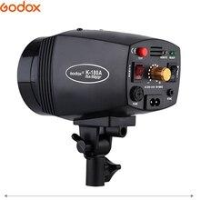 GODOX K 150A K150A K180A K 180A 180WS 150Ws taşınabilir Mini ana stüdyo flaş aydınlatma fotoğraf galerisi Mini flaş 110 v/220 v