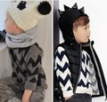 2016 outono inverno infantil roupas BOBO CHOSES ONDA de malha blusas BEBÊ MENINO ROUPA dos miúdos roupas de inverno kikikids mini