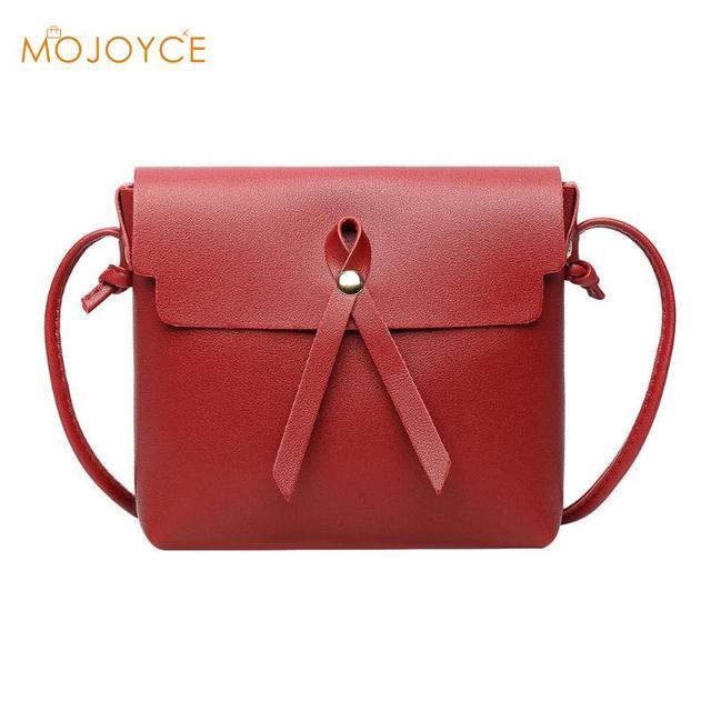 2fac88a40ca2 Stylish Women Candy Color Shoulder Bags PU Leather Crossbody Handbag Bolso  mujer Casual Lady Girls Cute