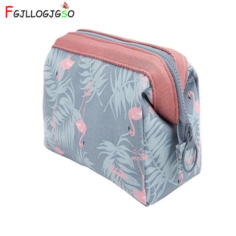 FGJLLOGJGSO Fresh Printing Flower Small Cosmetic Bag Multifunctional Makeup Bag Large Capacity Portable Travel Organizer Clutch