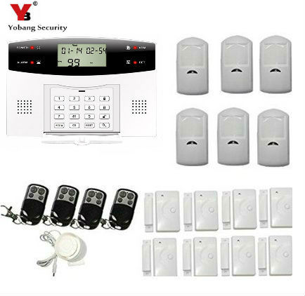 Yobang Security Home Security Wireless GSM SMS Home Alarm Alarming SMS Automatic Message Recording GSM Alarma For Hotel/Shop yobang security tri band gsm alarm system anti theft electronic alarm for home protection sms alarm 10 second automatic message