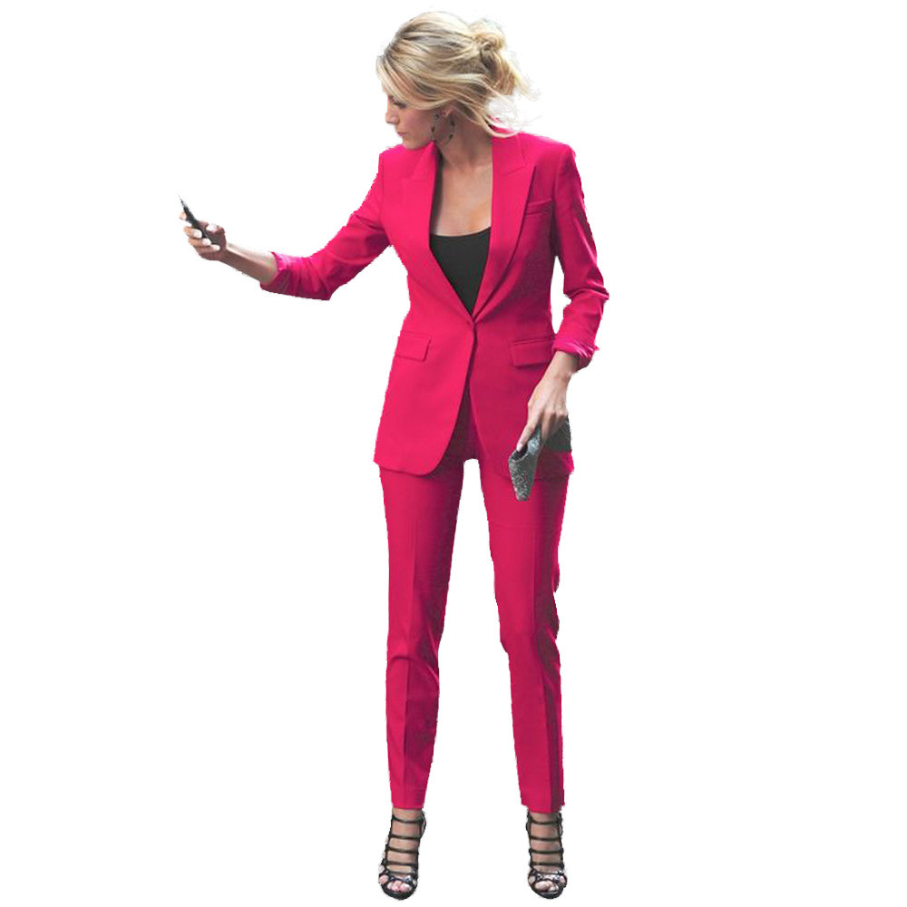 Color Blue royal charcoal D'affaires khaki purple Blazer Card Color Bureau Pantalon Conçoit Femmes Blue gray black rose Red yellow Uniforme light sky Blanc Les Photo burgundy navy Costumes Gray pink color Noir Pour red Mode uPXOkZTi