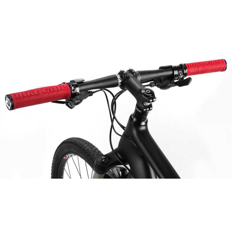 2pcs Bicycle Handle Bar Grips Double Lock On Mountain Bike Cycling Hand Grips