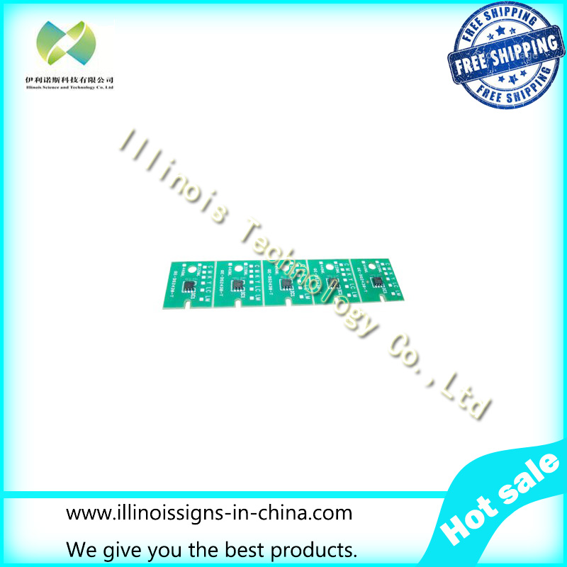 One-time Chip for Mimaki LH100-0659 UV Cartridge 5 colors CMYKLCWh printer parts