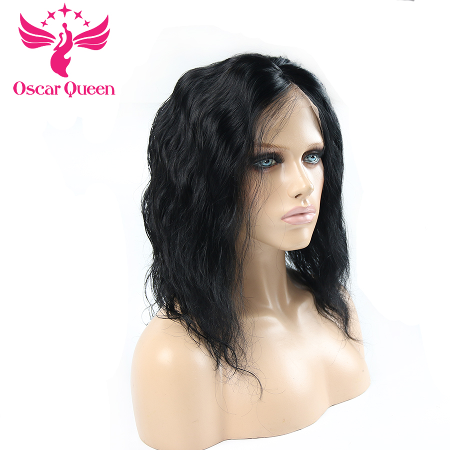 InIndian Body Wave Wig Remy Lace Front Human Hair Wigs  Lace Front Wig With Baby Hair Pre Plucked Lace Human Hair Wig