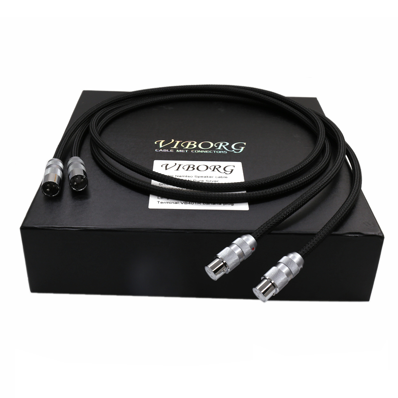Viborg OFC Multiple pure copper XLR balanced Interconnect cable HIFI XLR Male to Female Extension XLR