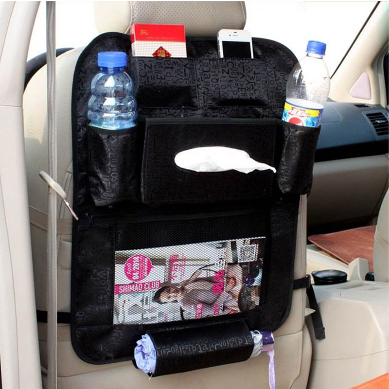 car organizer waterproof car seat covers protector mat car storage bags seat back protector case. Black Bedroom Furniture Sets. Home Design Ideas