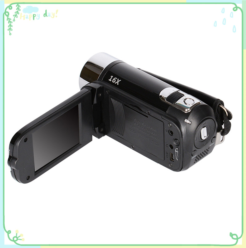 2 Colors Outdoor High-definition Digital Camera Video Camera Camcorder 2.7 Inch TFT Smile Capture Anti-shake For Home Travel 1