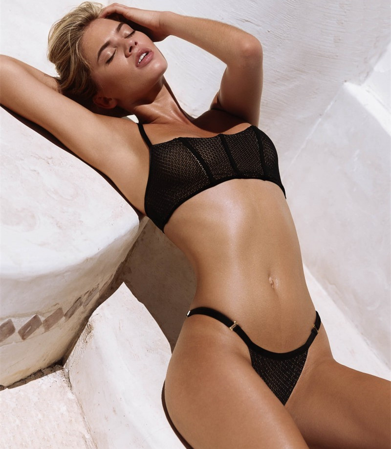 women swimwear 2018 hot black bikinis sexy thong swimsuit beach bathing suit maillot de bain. Black Bedroom Furniture Sets. Home Design Ideas