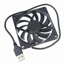 10 шт./лот Gdstime 80 мм 8010 80x80x10 мм 5 вольт 2Pin USB DC вентилятор охлаждения для компьютера