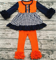 New Product Girl Boutique Clothing Fall Baby Clothing Sets Halloween Costumes China Wholesale