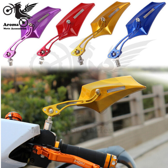 8mm 10mm motorcycle rearview mirror motocross reflective mirror Motocycle Accessories moto parts motorcycle rear view mirror hot