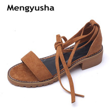 Sandals female 2018 summer student wild Korean college simple retro strap  flat boho Roman shoes( 390cbcc1d4b4