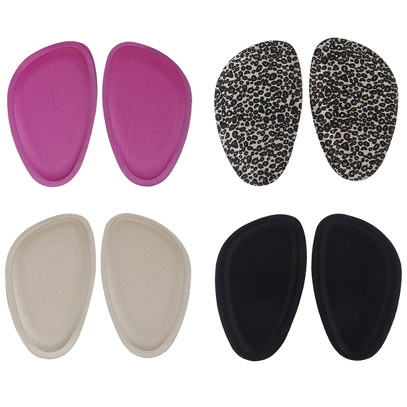 Women 4D Sponge Forefoot Pads Sandals High Heels Shoes Anti-slip Cushion Half Yard Insert Pad Foot Care Front Silicone Insoles