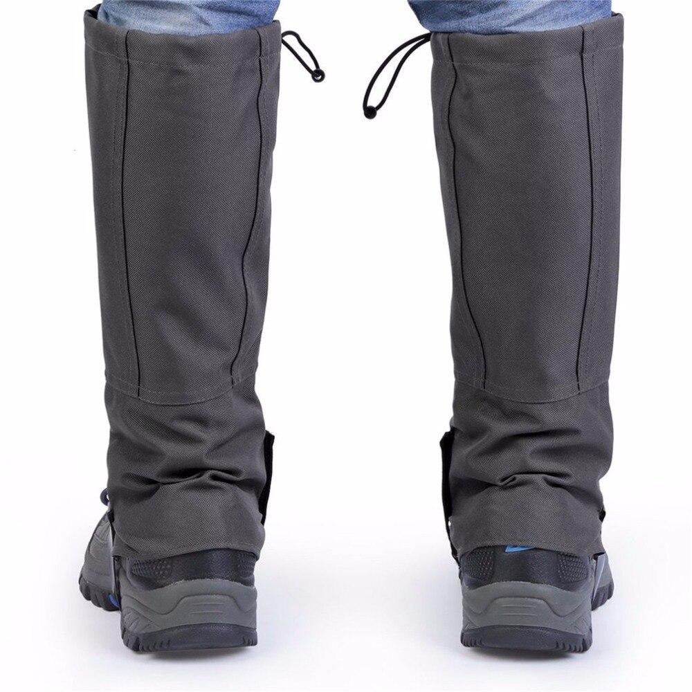 1 Pair Set Waterproof Outdoor Hiking Walking Climbing Hunting Trekking Snow Legging Gaiters Winter Leg Protective Equipment Pakistan