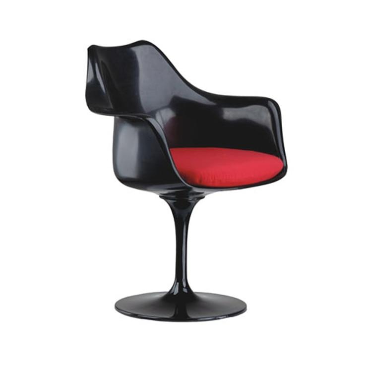 Sedie Moderne In Plastica.Classic Poltrona Base In Alluminio Girevole Stoel Loft Minimalista