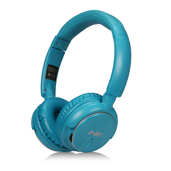 3 Pezzi un set Originale NIA Q1 Stereo Senza Fili Bluetooth Cuffia di Alta  Qualità di Trasporto Libero di Sport Pieghevole con Microfono in 3 Pezzi un  set ... 585ab27482d2
