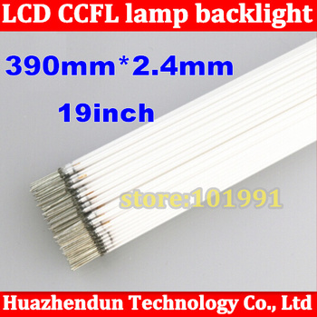 Wholesale 200PCS 390mm*2.4mm 19inch length LCD CCFL lamp backlight 19'', CCFL backlight tube 390 MM Free shipping