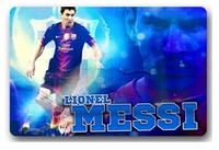 Free Ship 2015 Home Decoration Custom Doormats Famous Player Messi Bedroom Coussin Carpets Bathroom Rugs DM
