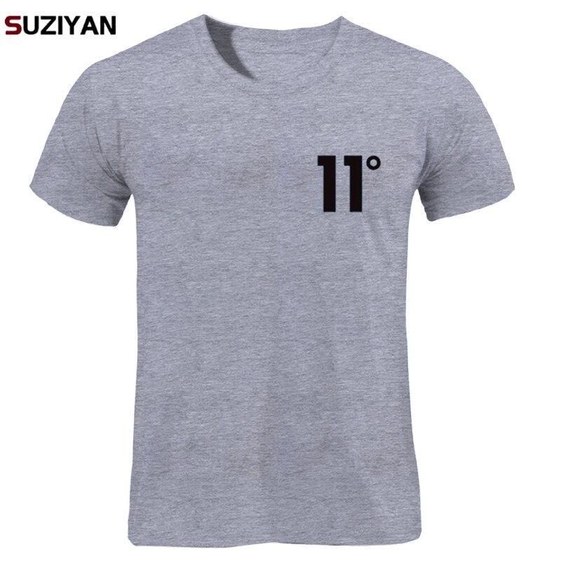 Brand Logo Print 11 Degree Cotton   T     Shirt   Men's   T  -  shirt   Short Sleeve New 2018 Funny MenMen Women Unisex Tops Tees   T     Shirt   Men