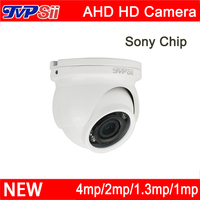 12Pcs Infrared Leds 720P 960P 1080P CMOS White Black Color Mini Dome AHD CCTV Security Camera