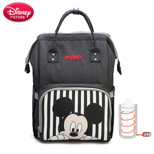 d25b0973ee Disney Mummy Diaper Bag Mickey Mouse Backpack Maternity Nappy Bag Baby  Travel Baby Bags for Mom