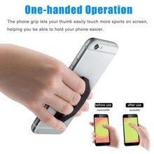 eab26bb209 Durável Uma mão Universal Anti-Slip Celular smartphone Dedo Anel Aperto  Cinta Titular Cradle Suporte Do Telefone Móvel Para Huaw.