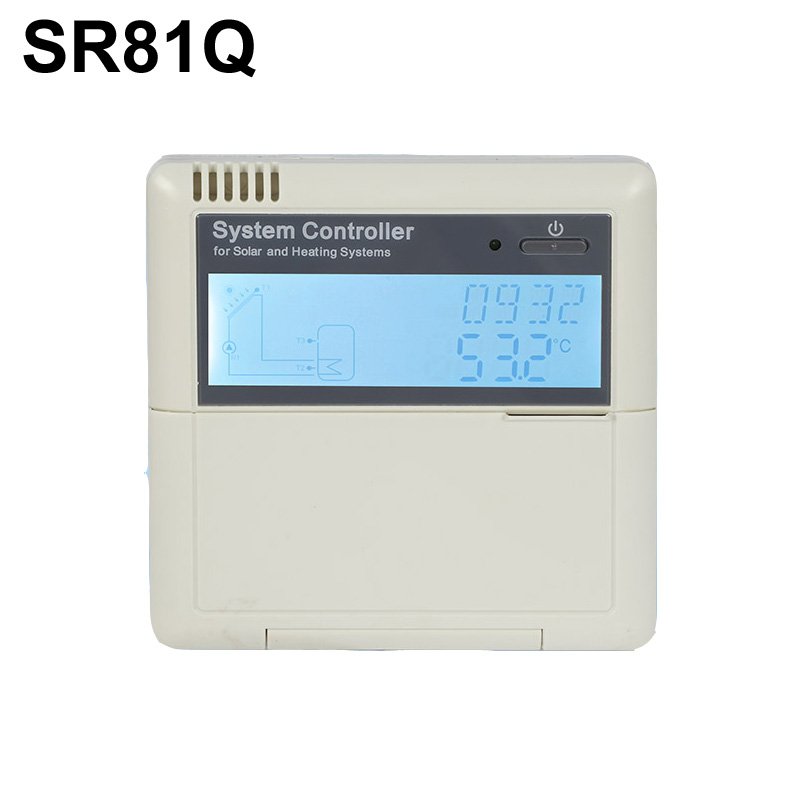 SR81Q solar hot water heater controller-3KW (old SR868C8Q updated) with Pump Control Auxiliary functionSR81Q solar hot water heater controller-3KW (old SR868C8Q updated) with Pump Control Auxiliary function