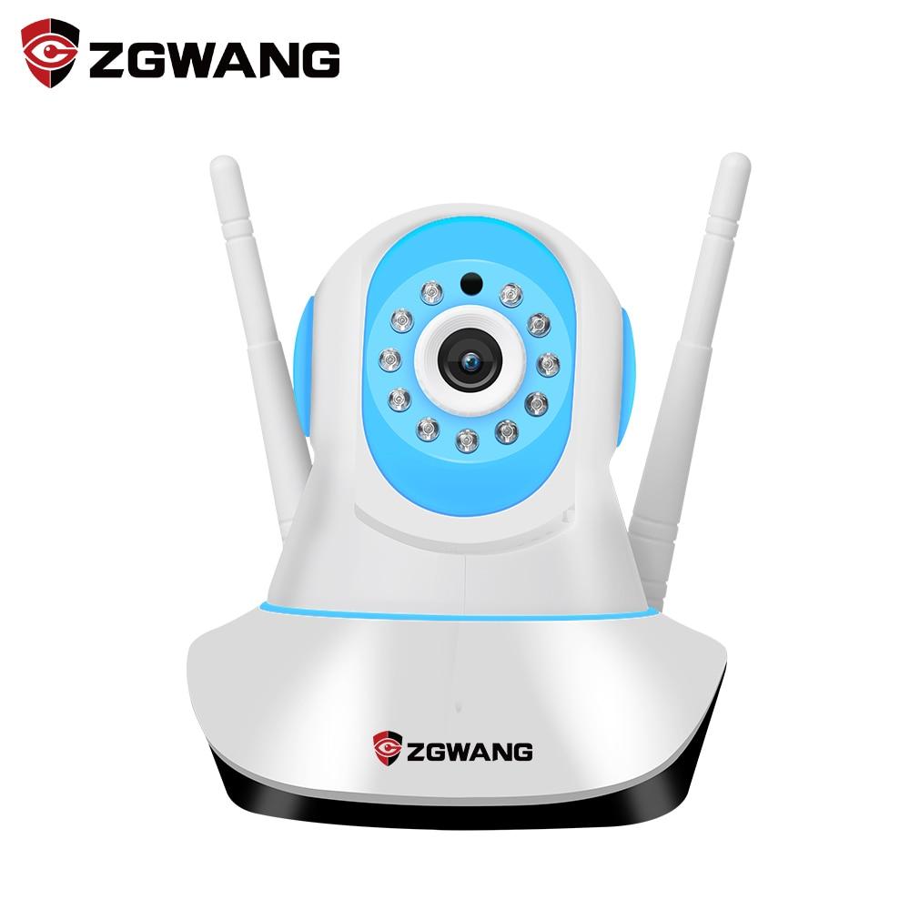ZGWANG New Home Security IP Camera Wireless Mini IP Camera Surveillance Camera Wifi 720P Night Vision