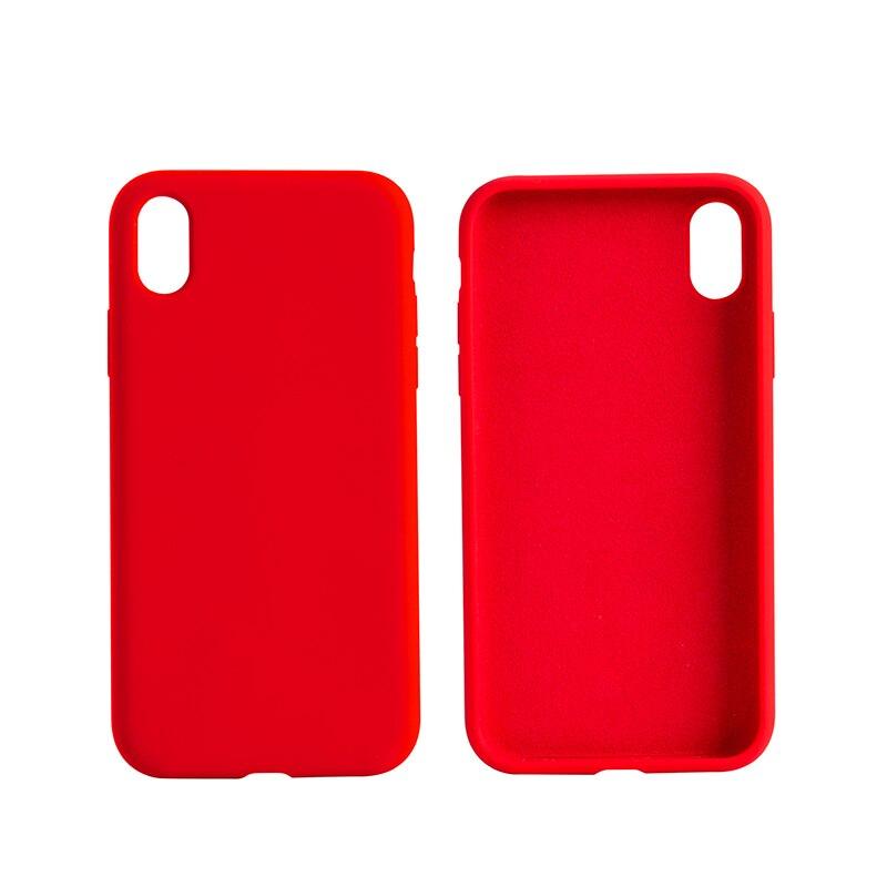 Home Suntoo Flüssigkeit Silikon Fall Kompatibel Für Iphone Xs Für Iphone X 5,8 Zoll Gel Gummi Ganzkörper Schutz GüNstige VerkäUfe