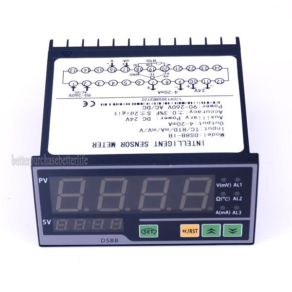 TC RTD mA mV V Input Digital Smart Sensor Indicator for 4 20mA output for Pressure