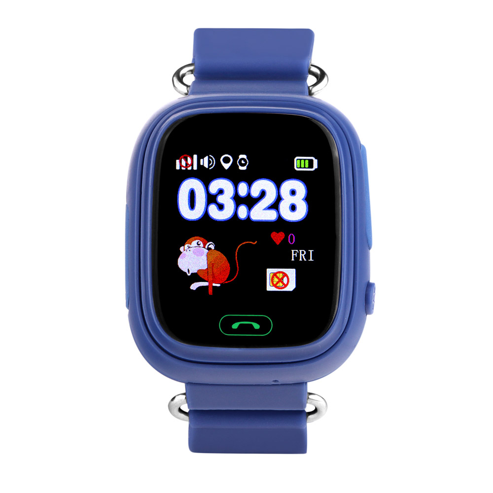 Gps q90 smart baby watch phone with sim card wifi location for Localisation wifi
