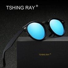 TSHING RAY Classique Marque Designer Club lunettes de Soleil Rondes Femmes  Hommes Mode Vintage Miroir Lunettes de Soleil Pour Fe. c91ba99d1832