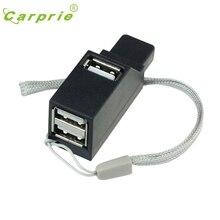 CARPRIE Новый 3 Порт Мини High Speed USB 2.0 Адаптер ХАБ Для Ноутбуков PC Смартфон Jan16 MotherLander
