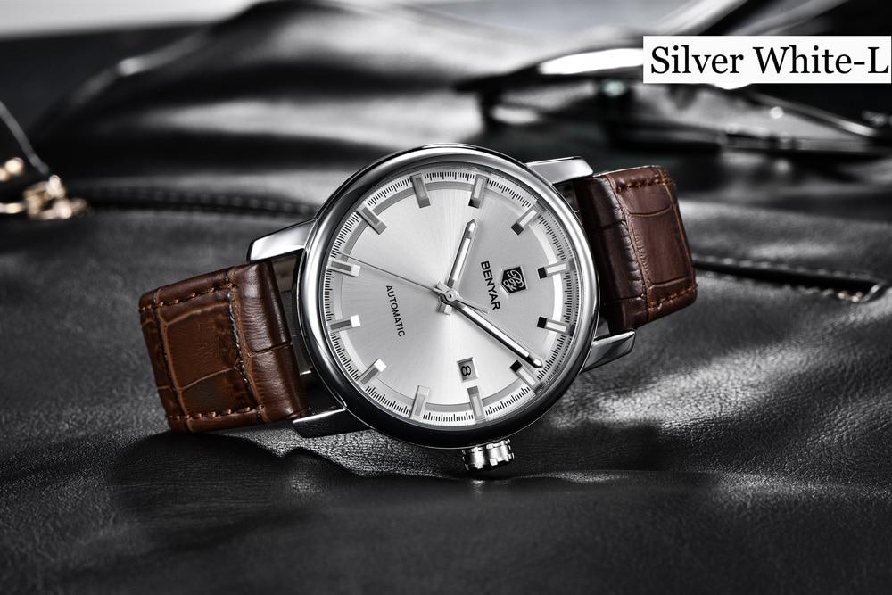 HTB1o0Gja8Cw3KVjSZR0q6zcUpXan New BENYAR Men's Mechanical Watches Automatic Mens watches Top Brand Luxury watch men WristWatch Military Relogio Masculino 2019