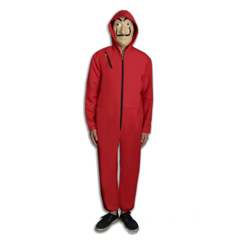 Money Heist The House of Paper La Casa De Papel Cosplay Costume for Men Women Salvador Dali Costume Halloween Carnival Costume
