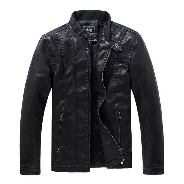 Бесплатная доставка мужская мода одежда стиральная Phi остался на нескольких молния дизайн мужская кожаная куртка кожаные куртки бомбардировщика большой