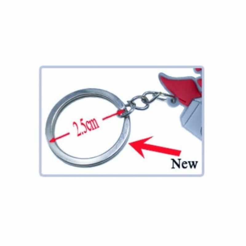 1pcs סופר מריו מחזיקי מפתחות אנימה PVC מפתח טבעת אפרסק לואיג 'י מפתח שרשרת אופנה תכשיטים זולים מפתח מחזיק Chaveiro ילדים חג המולד מתנה