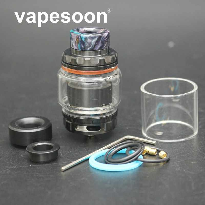 In Stock Newest Vapesoon Kylin V2 RTA 3ml/5ml with Single/Dual Coil Upgraded  For E Cigarette Box Mod Vape four colors