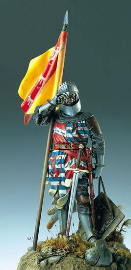 1346 French Knight  90 mm 1346