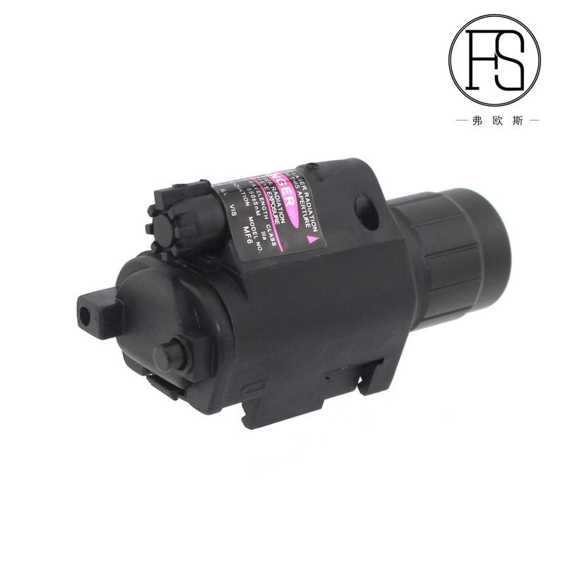 2en1 Tactical Red Dot Laser Sight + LED Flashlight Combo Hunting - Caza - foto 3